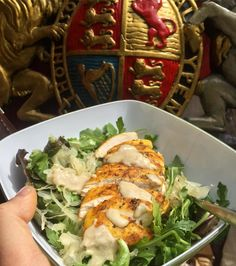 Lunch Grilled Spiced Chicken Breast  Salad Leaves  Sauerkraut  Tahini  Lime Juice  Freerange Org  @daylesfordfarm - Org  @tescofood - Raw Kraut @lauriesfoods - Raw Tahini Sun&Seed @planetorganic  . . #chickensalad #chickenbreast #sauerkraut #tahini #salad #eatclean #eathealthy #eatforabs #fatloss #fitfamuk #lowcarb #keto #paleoeats #homecooking #homemadefood #fitmencook #healthylunch #nutrition #bulletproofdiet #organicliving #cleaneats #eeeeeats #beautifulcuisines #buzzfeedfood…