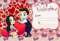 Be my valentine ...  From umkasandiary ... shadowhunters, the mortal instruments, sizzy, simon lewis, isabelle lightwood