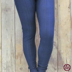 These denim jeggings are a favorite here at Du North Designs Ltd. Some of us have a pair in every color( or maybe two). With the comfort of leggings and the look of jeans, these jeggings are one of the most fierce and fabulous pairs of pants that you could own!