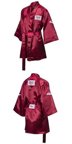 Robes 179773  New Everlast Boxing Satin Robe 3 4 Fingertip Length Size   Medium Color d5d724fd2