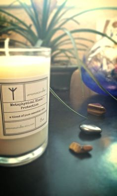 Protection soy candle by aromacandles on Etsy #ghosts #spirits
