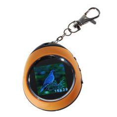 """1,5 """"LCD wiederaufladbare Digitaler Bilderrahmen Schlüsselanhänger"""
