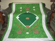 baseball quilt idea