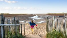 The beach at Holkham National Nature Reserve