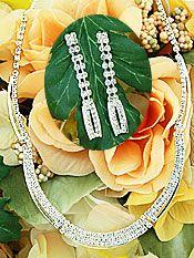 Bride's Jewelry Sets | Wedding Rhinestone Jewelry Set