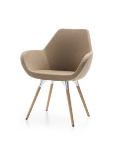 Fan seating range by Profim, ideal for offices/hotels/homes. Retro Furniture, Industrial Furniture, Furniture Design, Reception Furniture, Reception Seating, Soft Seating, Elegant Homes, Office Interiors, Blond