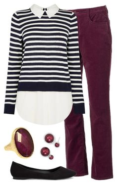 """""""Teacher Outfits on a Teacher's Budget 226"""" by allij28 ❤ liked on Polyvore featuring Croft & Barrow, Nly Shoes, Taolei and BillyTheTree"""