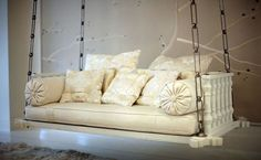 saw a similar benchswingdaybed at black dog salvage. this one is so much more elegant