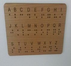 Have you incorporated Braille in your Escape Room(s) and need a way to show your players how to read it? Look not further than our Braille Wall Panel Key for Escape Rooms. The Braille alphabet is clea