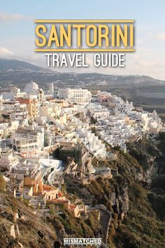 Are you planning to visit the the dream destination, Santorini in Greece? Check out this travel guide for things to do, places to see, where to stay, transportation and other travel tips.