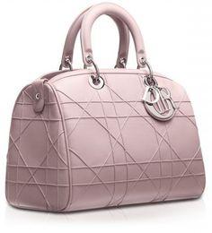 Christian Dior, borse autunno inverno 2013 2014, bauletto Granville rosa. #bag #bags #dior