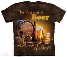 Tricoul Beer Outside este un tricou unsiex cu imprimeu 3D urias, confectionat din bumbac de cea mai buna calitate. Este disponibi in mai multe marimi, pentru barbati si pentru dame, si se poate cumpara conservat la cutie de mazare. #cadouripentrubarbati #tricouri #tricouribarbati #cadouritraznite