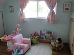 Stage 2 of Sophie's toddler room