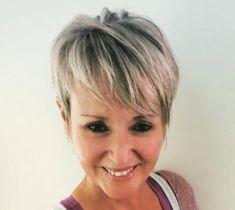 Frauen über 40 haben oft eine langweilige und biedere Frisur? Aber nein doch! Pfiffige Kurzhaarfrisuren für Frauen über 40! - Neue Frisur