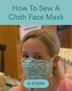 Discover how to How To Sew A Cloth Face Mask in 9 steps video face mask How To Sew A Cloth Face Mask Easy Face Masks, Diy Face Mask, Homemade Face Masks, Diy Canvas Art, Age, Diy Halloween Decorations, Diy Mask, Diy Birthday, Diy On A Budget