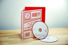 Anxiety Fight by Forefathers Group via @The Dieline