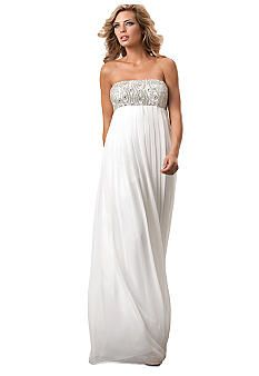 Js Collections Chiffon Baby Doll Gown Belk Wedding