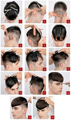 Best Hairstyle For Your Face Boys Long Hairstyles, Cool Haircuts, Hairstyles Haircuts, Haircuts For Men, Short Hair Cuts, Short Hair Styles, Gents Hair Style, Hair Cutting Techniques, Barber Haircuts
