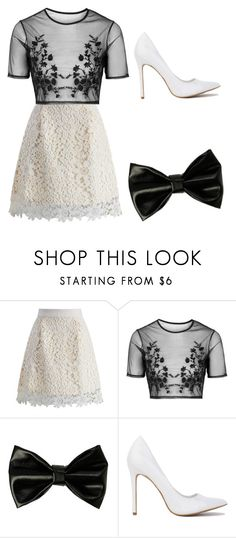 """""""Untitled #95"""" by xeniyagreen on Polyvore featuring Chicwish and Topshop"""