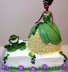 Frog Cake  Ideas Birthday 2012 cakepins.com