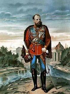 Tsar Alexander lll of Russia.A♥W