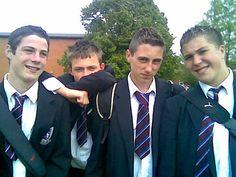 UK teenage schoolboys