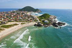"""PRAIA GRANDE: Localizada entre a Praia da Saudade, ou simplesmente """"Prainha"""" e o Ervino. Balneários   Secretaria de Turismo de São Francisco do Sul"""