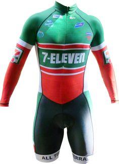 7 Eleven, Bike Stuff, Bicycling, Road Bikes, Cycling Outfit, Jersey Shorts, Triathlon, Biking, Wetsuit