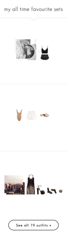 """my all time favourite sets"" by regnlee ❤ liked on Polyvore featuring Dolce&Gabbana, T By Alexander Wang, Norma Kamali, Carven, Billini, Boohoo, Aquazzura, Alexander McQueen, ...Lost and Ann Demeulemeester"