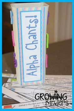Alphabet Chants! - Growing Kinders
