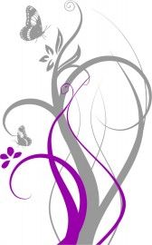 Wall Decal Available in multiple colors and sizes