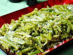 Green Beans Poriyal with Coconut