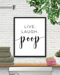 Ideas For Bathroom Signs Diy Funny Etsy Funny Bathroom Art, Bathroom Humor, Bathroom Signs, Bathroom Wall, Small Bathroom, Bathroom Ideas, Restroom Signs, Restroom Ideas, Silver Bathroom