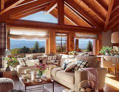 Superb modernizată cabana asta de munte