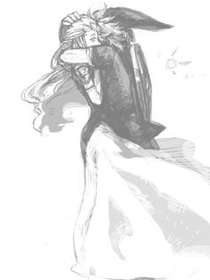 Princess Zelda and Link with a fairy - The Legend of Zelda: Twilight Princess.  Awww!<3
