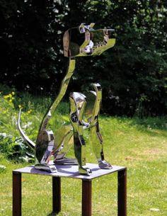 "Saatchi Art Artist Bart Somers; Sculpture, ""Waiting for you"" #art"