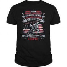 I Love god bless america Shirt; Tee