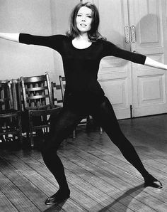 Diana Rigg in The Avengers.    You go Emma Peel