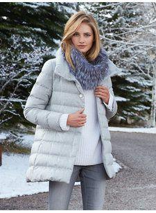 lexie silk coat