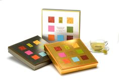 Great gifts under $50 - Selection Of Grand Cru Teas In Tea Bags - Teas from around the world including China, Taiwan, India and Japan