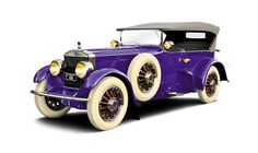 """This 1919 Pierce-Arrow. Roscoe """"Fatty"""" Arbuckle was its first owner. Arbuckle had the car custom built in 1919"""