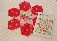 Hexie Garden Atkinson Designs by PamKittyMorning, via Flickr