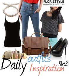 """""""Daily outfits inspiration part 2"""" by floriestyle on Polyvore"""