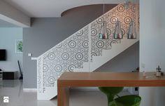 Balustrada stalowa - Średnie schody, styl nowoczesny - zdjęcie od Custom-Fold