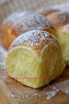 DOLCISOGNARE: Mini buchteln filanti alla vaniglia