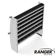 "Ranger Design 60"" Contoured Bin Shelving Unit for Mercedes Sprinter"