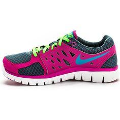 Nike flex running shoes. Love!