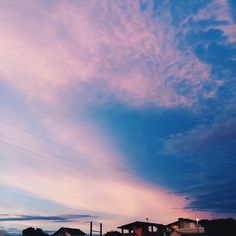 Pink and blue mixed together
