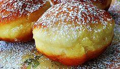 Gogosi pufoase(2) ~ Bucatar maniac si prietenii Cake Recipes, Dessert Recipes, Desserts, Romanian Food, Romanian Recipes, Cinnabon, Food Cakes, Diy Food, Puddings