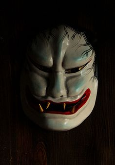 Kijo. Demon Woman Mask, Japan
